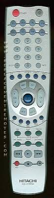 hitachi tv remote. the original hitachi clu5729tsi remote hitachi tv r