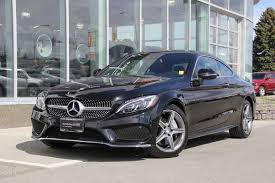 Buy mercedes c coupe and get the best deals at the lowest prices on ebay! Mercedes Benz Kamloops Pre Owned 2017 Mercedes Benz C300 4matic Coupe For Sale 36 506