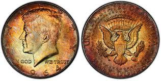 1964 50c Regular Strike Kennedy Half Dollar Pcgs Coinfacts