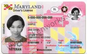 New License Maryland Driver's - Inc Design Introduces Tokenworks