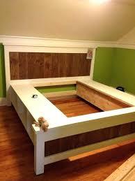 queen platform bed plan best platform beds with storage free queen platform bed storage plans queen queen platform bed