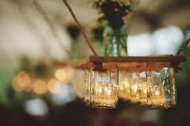 jelly jar chandelier