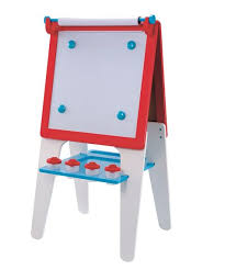 Wooden Double Sided Easel Blue Blake Wooden Easel