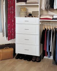 Closet Tower With Drawers Closet Solutions By Affordable Closet Systems Inc