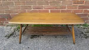 ercol originals coffee table original 1960 s classic other erocl piece s available as well