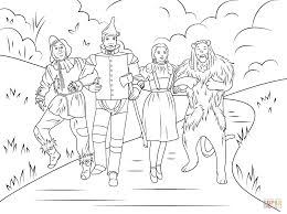 Small Picture Online Wizard Of Oz Coloring 29 In Free Coloring Pages For Kids