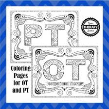 Ot And Pt Coloring Pages Your Therapy Source