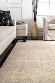 nuloom bordered maryjo sisal black area rug 2 6