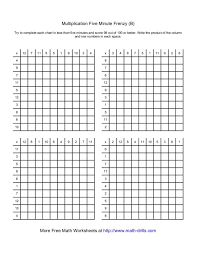 Multiplication Frenzy Worksheet Amazing Division Worksheets 48 Minute Drills Download Them And Try To Solve