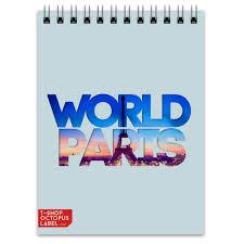 "<b>Блокнот</b> ""<b>DIFFERENT WORLD</b>"": Paris #1325123"
