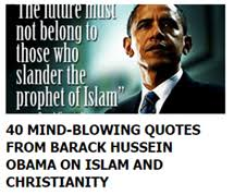 Obama Anti Christian Quotes