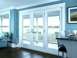 triple sliding glass door french hinged patio feature 3 doors cost aluk track