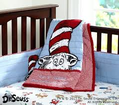 cat in the hat baby bedding set pottery barn kids dr seuss crib sets