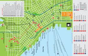 maps update  seattle washington map tourist –  toprated