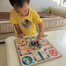 Cờ cá ngựa phi hành gia TopBright đồ chơi board game cho bé 3 tuổi –  Kidsmove - Thế giới xe của bé