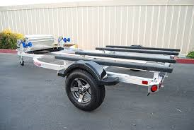 welded aluminum boat trailers west coast trailers