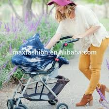 ping cart baby seat stretchy multi use tie dye baby car seat cover ping cart cover nursing scarf