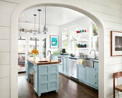 beach house kitchen cabinets modern style paint grade kitchen cabinets with blue cabinets beach house kitchens ideas cabinets colors foster beach house
