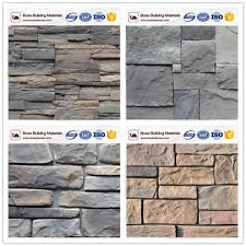 interior and exterior wall decoration faux cement stone