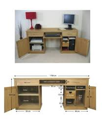hidden home office furniture. Large Hidden Office Twin Pedestal Desk Home Furniture