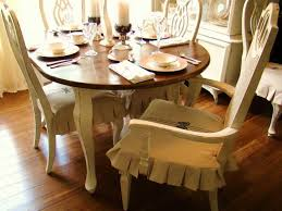 Dining Room Loose Beige Dining Room Chairs Protective Cover - Rustic modern dining room chairs