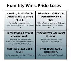 Christian Quotes On Pride And Humility Best of HumilityWinsPrideLoses I Am GREAT Pinterest Humility Mere