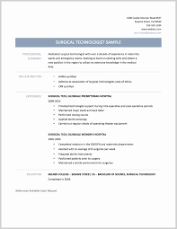 med tech resume sample surgical tech resume sample fresh patient care technician resume