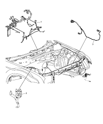2015 dodge charger wiring headl to dash mopar parts giant
