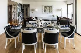 modern black and white furniture. Unique And Soft Model Modern Dining Room Black White Furniture