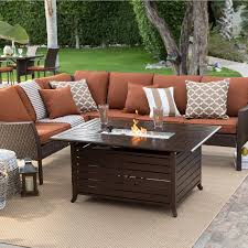 11 piece outdoor dining set best of best patio furniture conversation sets with fire pit unique
