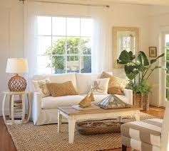 Living Room:Sweet Tasteful Beach Style Living Room Idea Fresh Tropical  Themed Living Room Interior