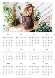 Photoshop Calendar Template 2020 Free Calendar Template 2020 Mrlightroom Premium
