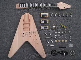 china pango factory flying v diy electric guitar kit pfv 639 china guitar electric guitar