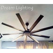 ceiling fan 72 inch. elmark 9he72 72-inch 9-blade - 6speed remote ceiling fan (dc motor 72 inch