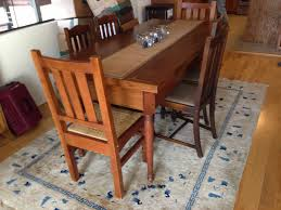 Mission Style Antique Kitchen Table 1450 San Francisco Trading Blog