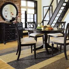 Contemporary Round Dining Table For 6 Round Dining Room Table Sets For Roomy Designs