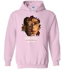 Shawn Mendes Hoodie Size Chart Singer Shawn Mendes The Tour 2019 Hoodie