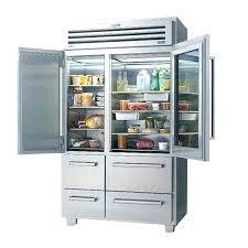 glass door fridge out of sight glass door fridge and freezer door glass front fridge small