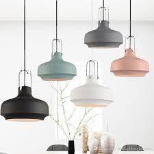 nordic pendant lights post modern minimalist dining room pendant lamp kitchen lights hanging american industrial single head hanging lamp pendant lighting