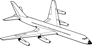 Airplane Drawing Airplane Aircraft Drawing Aviation Black And White Free Commercial