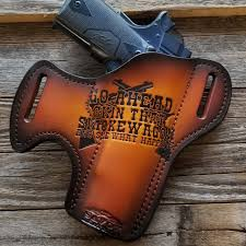 i m your huckleberry 3 holster custom leather holster photo