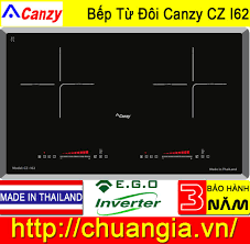 Bếp Từ Canzy CZ I62 Made In Thailand, bếp từ canzy, bếp từ đôi, bếp từ nhập  khẩu, bếp từ canzy giá rẻ.