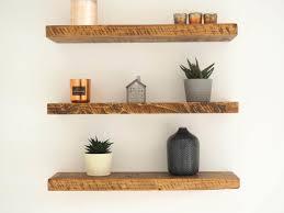Buy Floating Shelves Online Impressive Rustic Wood Floating Shelves Order Online Great Value British Made