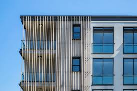 Office facade design Architecture Perspective Office 11 Wood Facade Design Slash Architects Perspective Office Slasharchitects