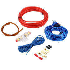 compare prices on car audio amp wiring kit online shopping buy hot selling 800w car audio subwoofer amplifier amp wiring fuse holder wire cable kit~