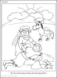 Good Samaritan Coloring Pages Good Coloring Page Awesome The Good