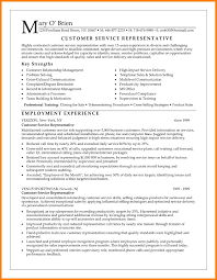 8 Customer Service Representative Resume Examples Memo Heading
