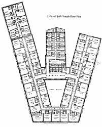 hotel floor plans. The Statler Hotel: Typical Guest Floor Plan Hotel Plans