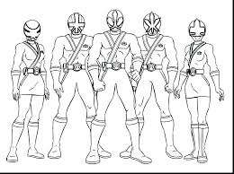Power Rangers Coloring Page For Kids Power Ranger Coloring Pages