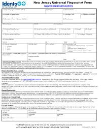 new jersey universal fingerprint application form blank ur new jersey universal fingerprint application form blank